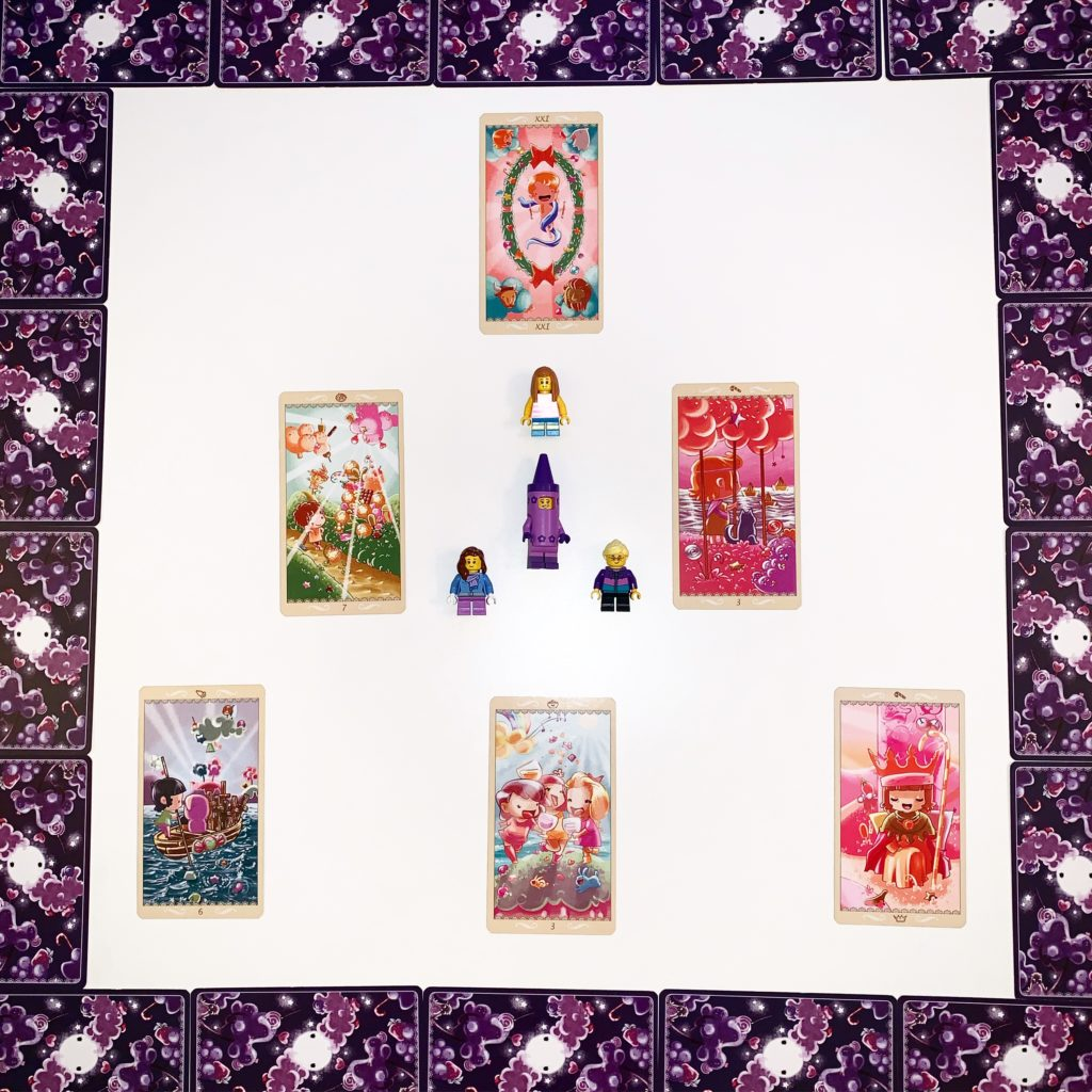 Tirage happy tarot