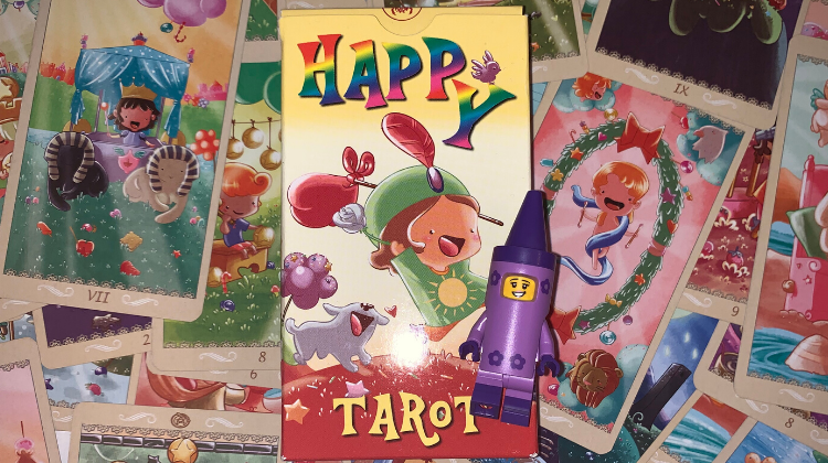 💜🍬 HAPPY TAROT 🍬💜 Interview your deck 🎤