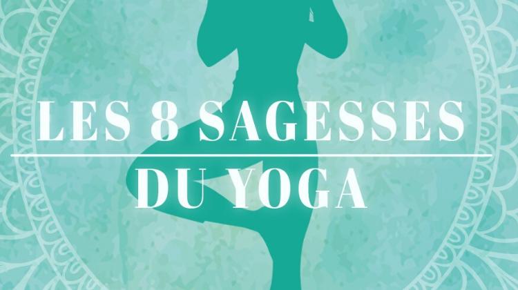 Couv Les 8 Sagesses du Yoga Oraclinzel