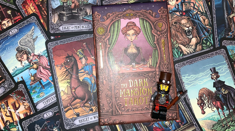🌚🌞 THE DARK MANSION TAROT 🌞🌚 Interview your deck 🎤