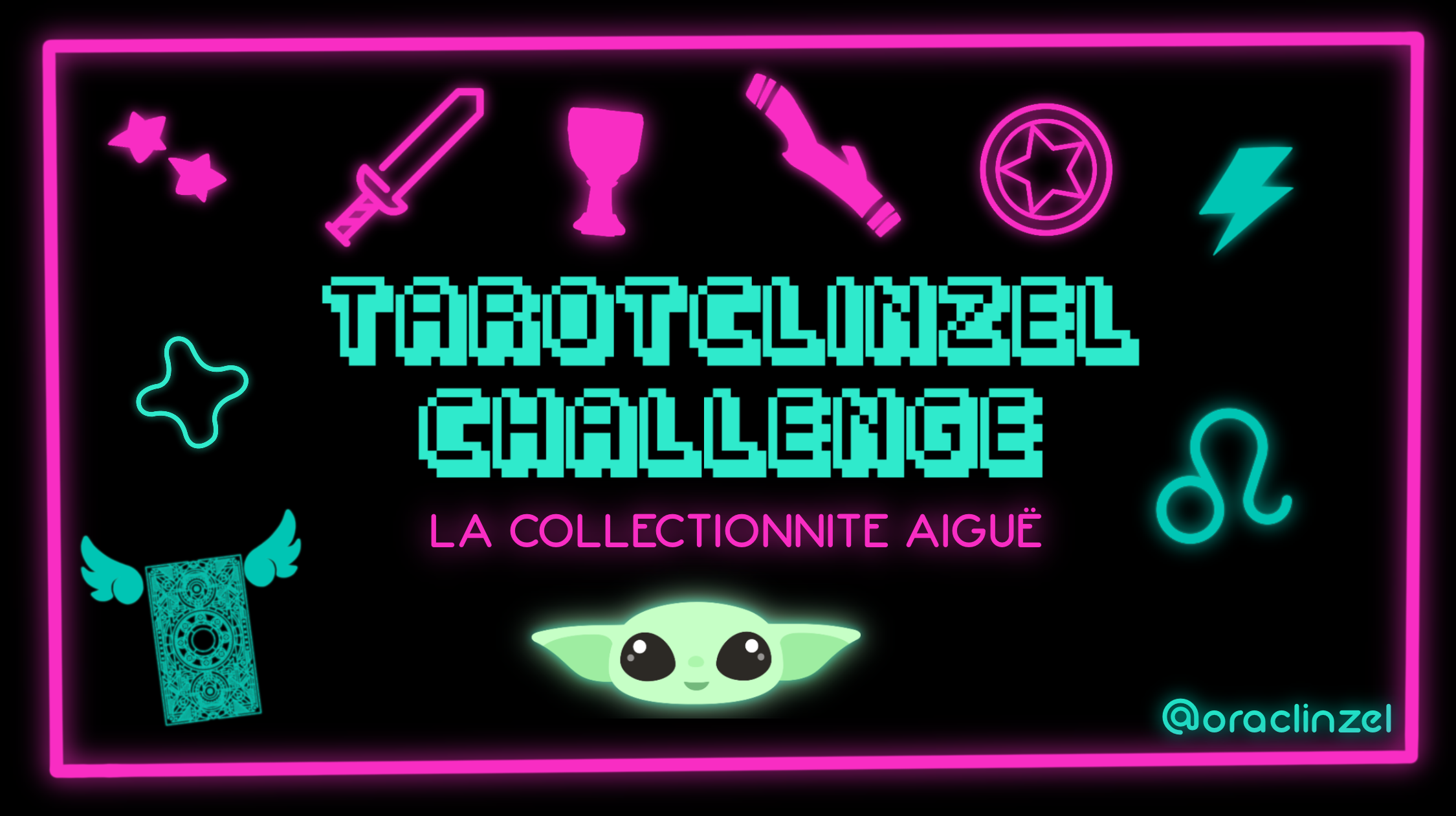 👾 TAROTCLINZELCHALLENGE 👾 La Collectionnite Aiguë 🃏 Édition spéciale collection de tarots