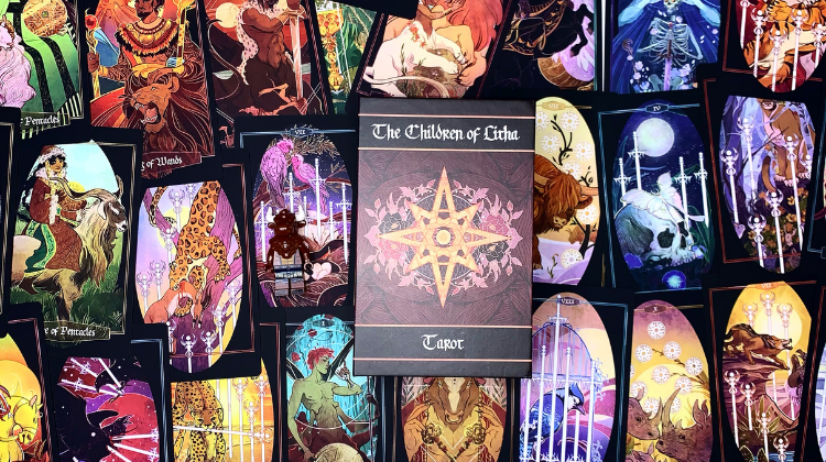 🐂🧜 THE CHILDREN OF LITHA TAROT 🧜🐂  Interview your deck 🎤