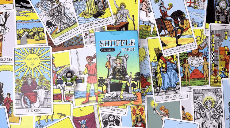 🌪🔵 SHUFFLE TAROT version A 🔵🌪 Interview your deck 🎤